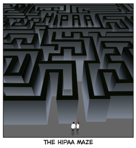 HIPAA Privacy Rule is part of the HIPAA maze.